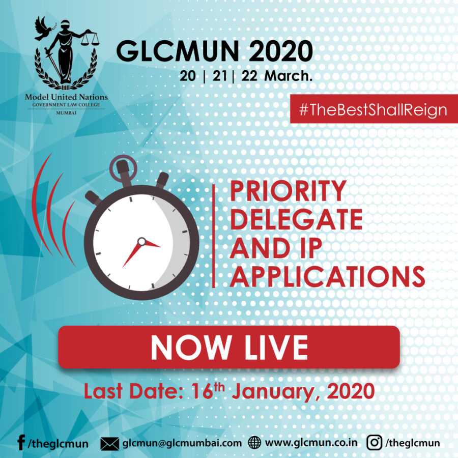 12th Government Law College Model United Nations