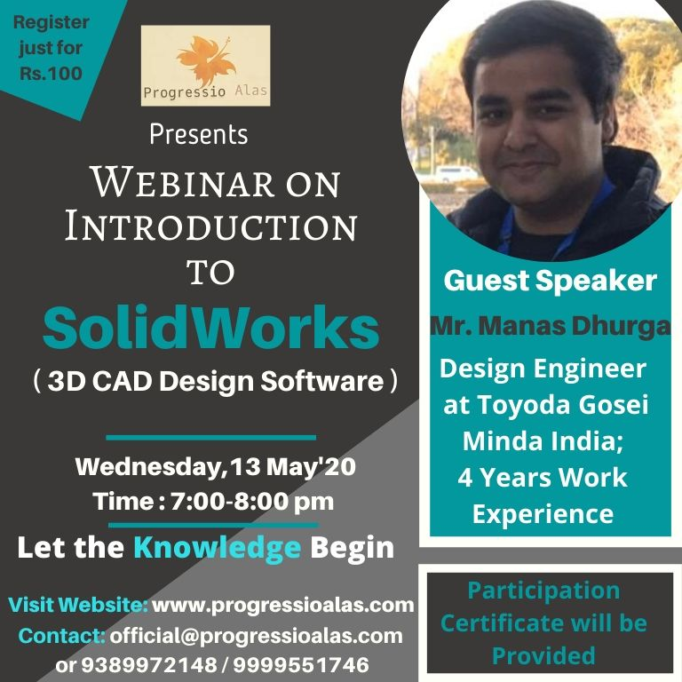 Webinar on Introduction to Solid Works